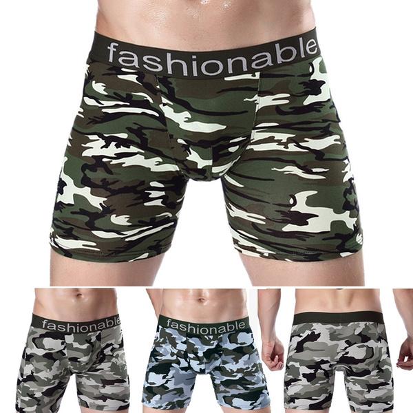 Underwear, mens underwear, boxer shorts, camouflagepant