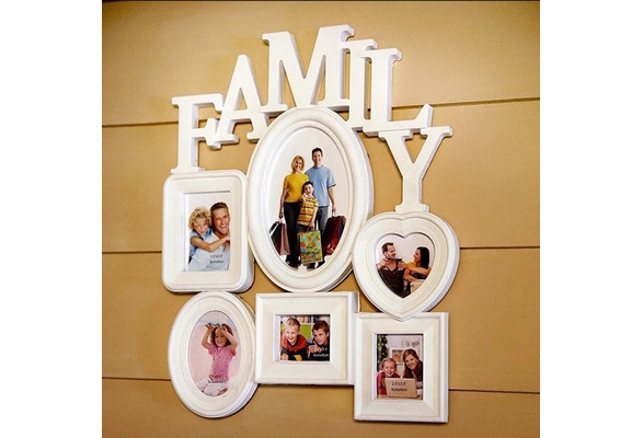 Wish Ship From Usavintage Family Photo Frame Wall Hanging