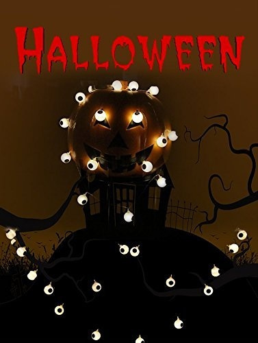 wish halloween eyeball lights surlight halloween lights battery operated 20 leds halloween eye lights halloween decor lights eyeball string lights for