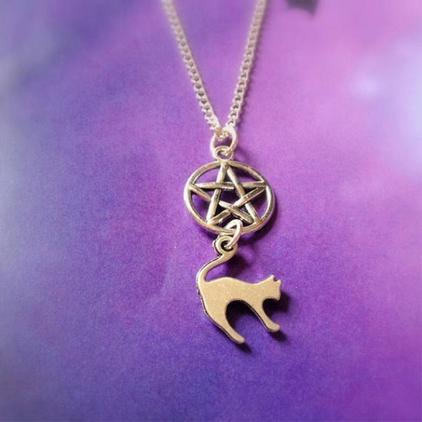 Pagan Jewelry Witch Pentacle Bracelet Witchy