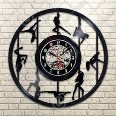 Home & Kitchen, Clock, blackrecordwallclock, Wall Clock