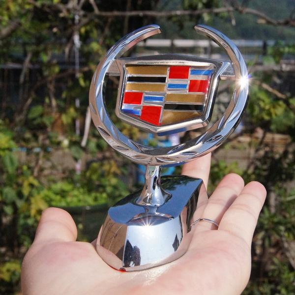 Geek Car Metal Chromed Emblem Badge Decal Sticker Front Logo For