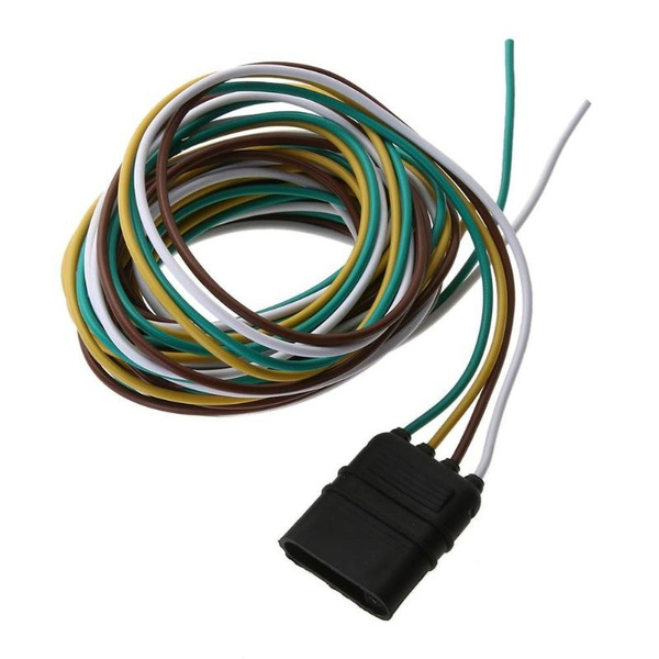 3m 4Pin Plug Trailer Wiring Harness Extension Cable Wire Connector  Pin Wiring Harness Extension on