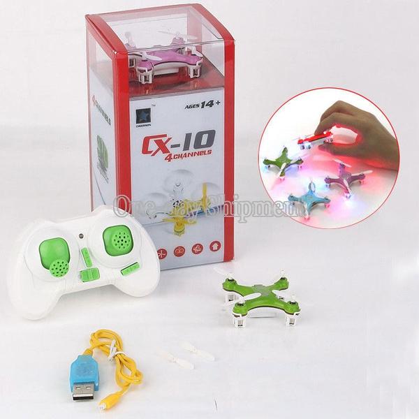 Wish | Cheerson CX-10 Mini 2.4Ghz 4CH 6-Axis GYRO Nano RC Quadcopter UFO Drone Heli
