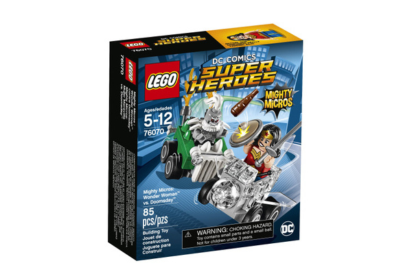 LEGO Super Heroes Mighty Micros Doomsday 76070 Building Kit Wonder Woman Vs