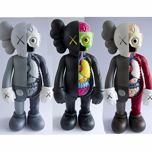 1pc 16inch KAWS Dissected Companion Action Figures model New in Box
