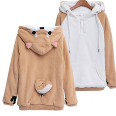 cute, cute hoodie, womensoutwear, Japanese Anime