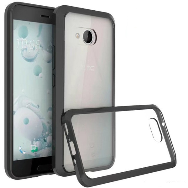 quality design ec858 bcf08 Slim Hybrid Transparent Clear Crystal Back Case For HTC U11 For HTC U11  Plus For HTC U11 Life For HTC U12 Plus For Nokia 7 Plus For Nokia 6 2018  For ...
