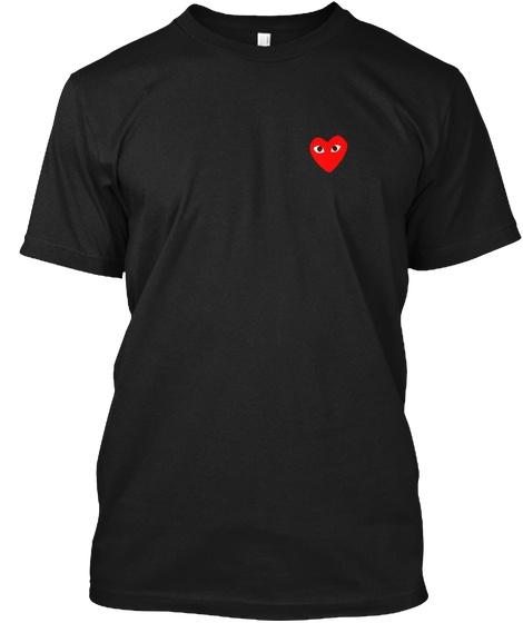 367e31ec Comme Des Garcons Play Hanes Tagless Tee T-Shirt | Wish