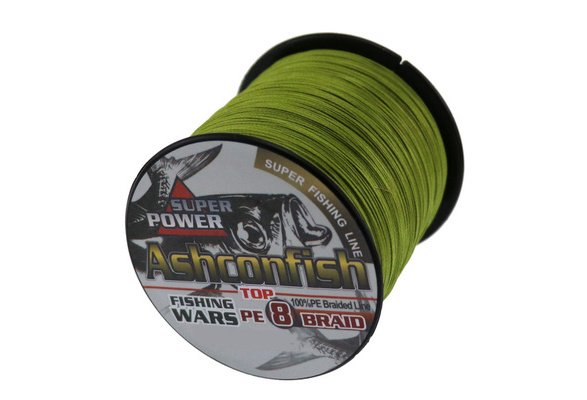 Top Quality 8 strands 500m/550yards 6-300LB all colors Multifilament PE Braided Fishing Line