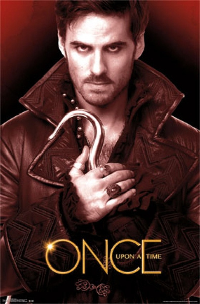 Once Upon A Time   Hook Poster Print by Wish