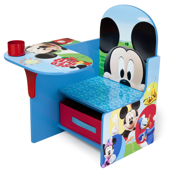 Mickey Mouse Kidsdesk Kidschair Storage