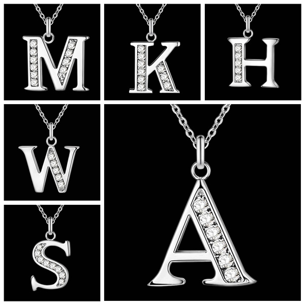 lettersnecklace, Fashion, Jewelry, women necklace