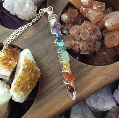 chakranecklace, amethystnecklace, quartz, sevenchakranecklace