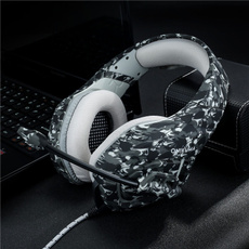 gameearphone, gamingheadphone, gameheadset, camouflageheadphone