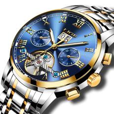 Steel, multifunctionalwatch, dial, Men