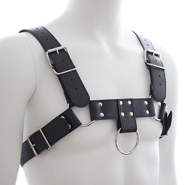leatherchestbuckle, Leather belt, Cosplay, clubwear