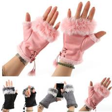 fingerlessglove, Fashion, fur, Winter