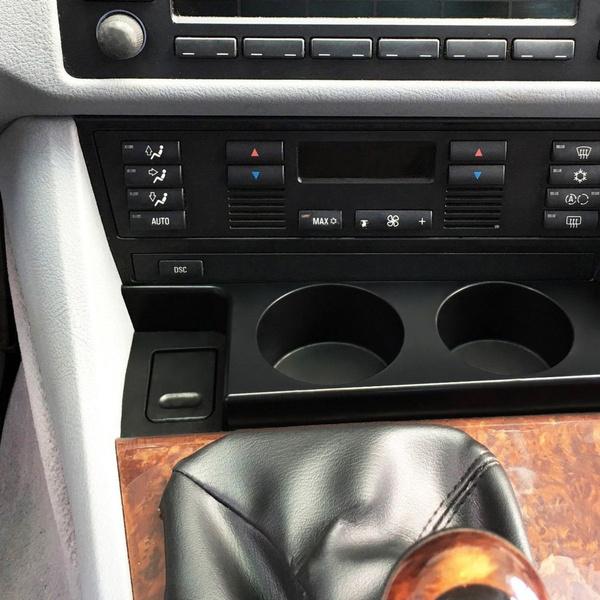For BMW E39 5 SERIES PREMIUM FRONT CUP HOLDER 1997-2003 525i 528i 530i 540i M5