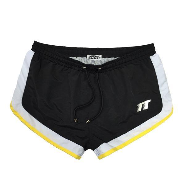 Swimwear Shorts Bañadores De Hombres Verano Mesh Imprimir Playa Elástico Patchwork Sunga Casual Cortocircuitos Los Tqqt Cintura n8wOkX0P