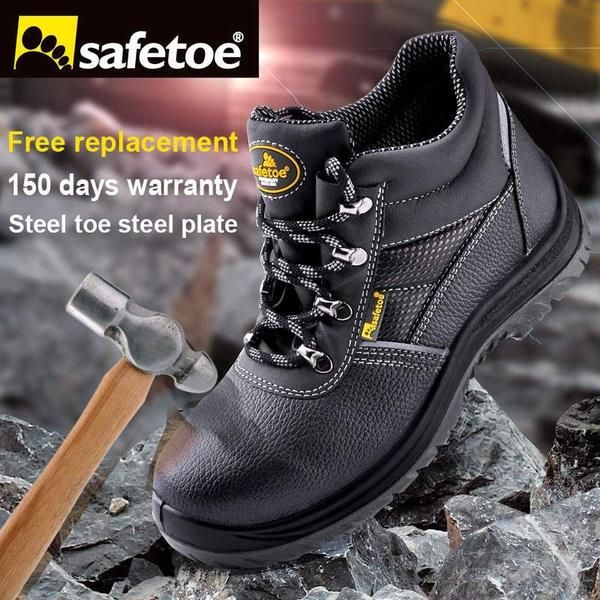 b8155e8b1a5 Safetoe Marca Botas De Seguridad Zapatos de Trabajo Botas de Los ...