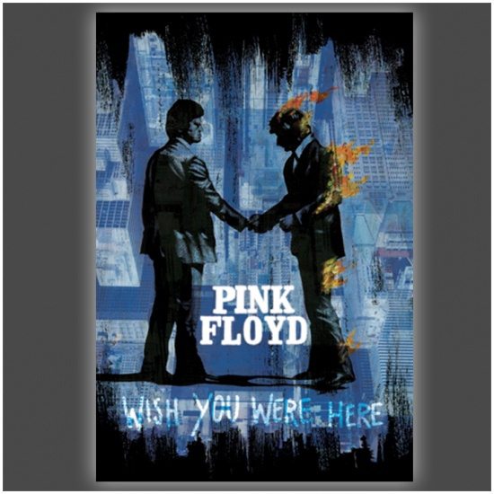 Size 24x36 PINK FLOYD WISH YOU WERE HERE POSTER