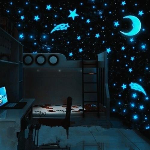 Blues, Wall Art, Home Decor, glowingsticker
