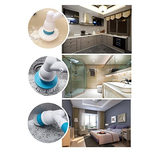 Wish Electric Spin Scrubber Reabeam High Power Automatic - Automatic bathroom scrubber