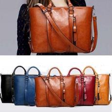 Totes, PU Leather, leather, Vintage