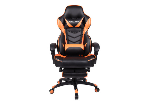 Gaming Racing Chair Seats Back Executive Footrest High Us Rocker Office Elecwish Computer 9YIWHDE2