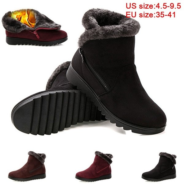 skate shoes many styles new design New Women Winter Boots Women's Boots Mother Shoes Waterproof Ankle ...