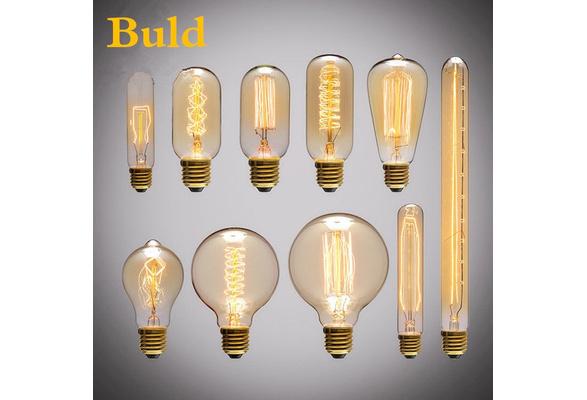 Fashion Antique Retro Vintage Edison Bulbs Incandescent Light Bulbs Squirrel-cage Decorative Filament Bulb Edison Light