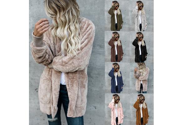 Women Warm Jackets Cotton Coats Casual Women Fur Fashion Winter