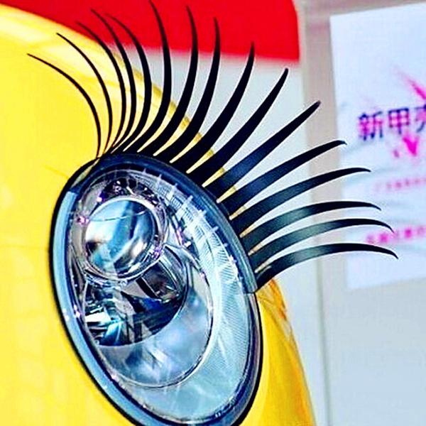 Wish 2017 3d Automotive Eyelashes Car Eye Lashes Auto 3d Eyelash