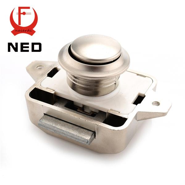 Atv,rv,boat & Other Vehicle Camper Car Push Lock Rv Caravan Boat Motor Home Cabinet Drawer Latch Button Locks For Furniture Hardware
