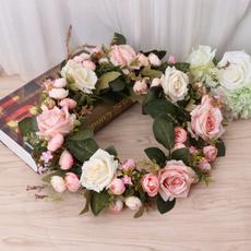 Decor, Flowers, Door, fakeroseflower