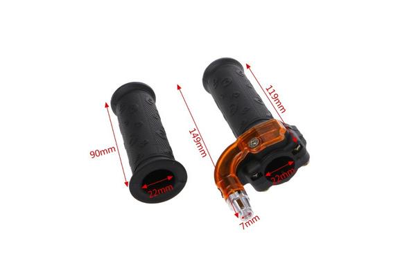 Twist Throttle Accelerator Grip Cable kit 47cc 49cc Mini Dirt Bike Quad Pocket
