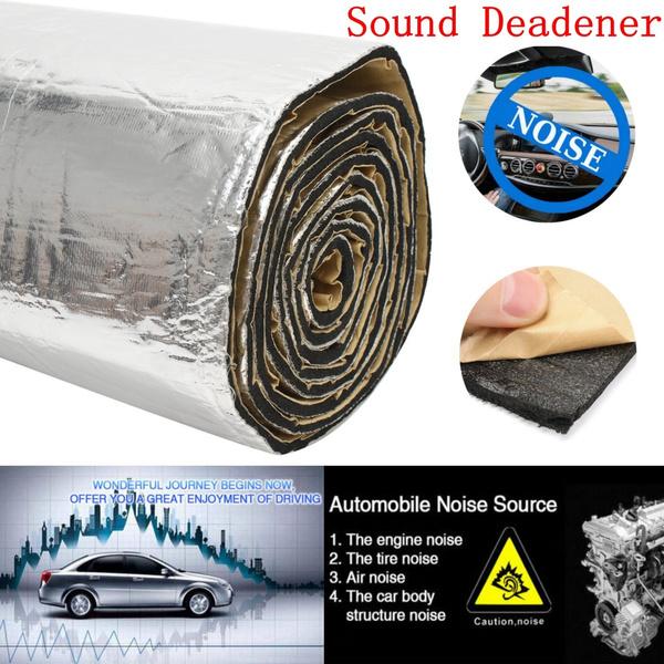 65sqft Aluminum Foil Sound Deadener Noise Control Car Heat Shield  Insulation Proofing 6mm 3X1M