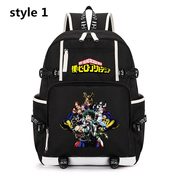 My Hero Academia Backpack Shoulders Bag Student Schoolbag Rucksack Laptop bag