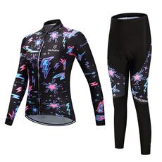 Fashion, Bicycle, Colorful, cyclingclothingset