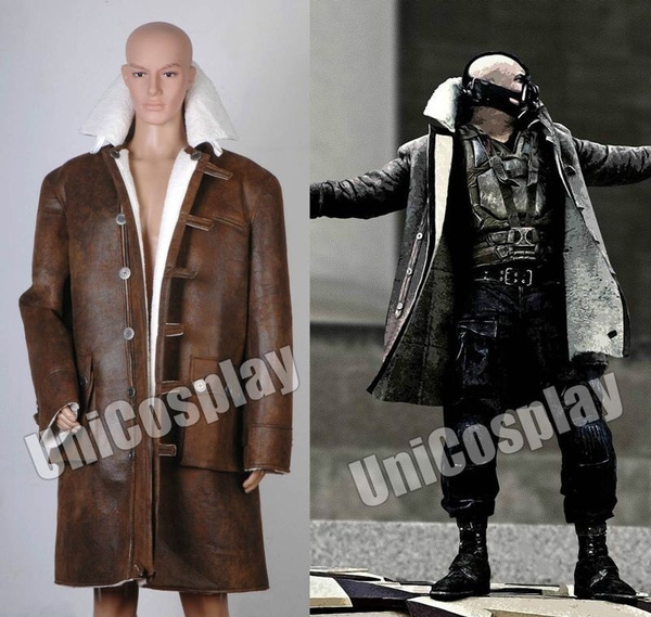 Batman Bane Coat The Costume Brown Dark Knight Rises 0O8PnwkX