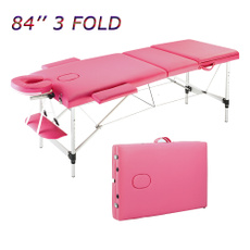 fitnesstable, massagetable, Aluminum, foldingtable