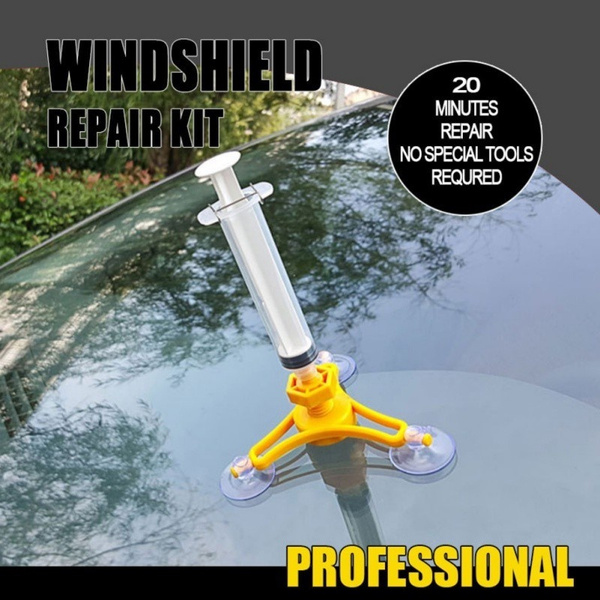 Car Auto Glass Windshield Windscreen Instrument Repair DIY Glass Repair Tool