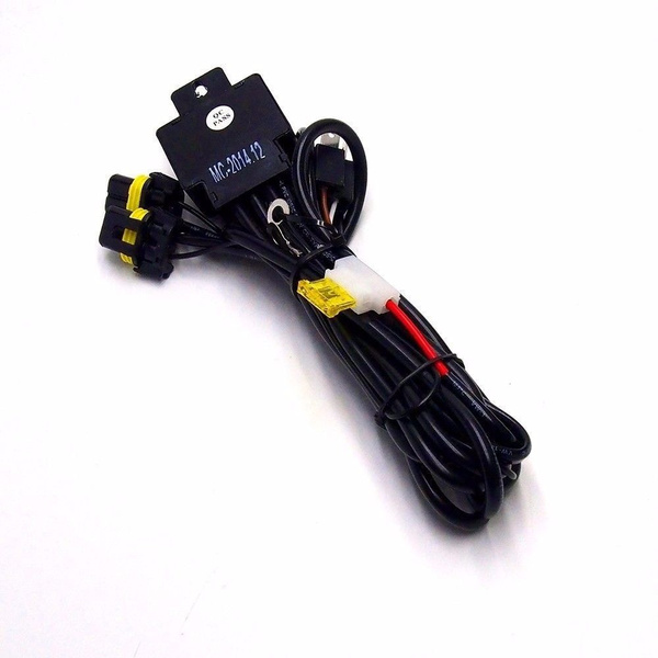 H4 9003 HB2 Relay Wiring Harness for Bi-Xenon HID Xenon Kit H Wiring Harness Kit on