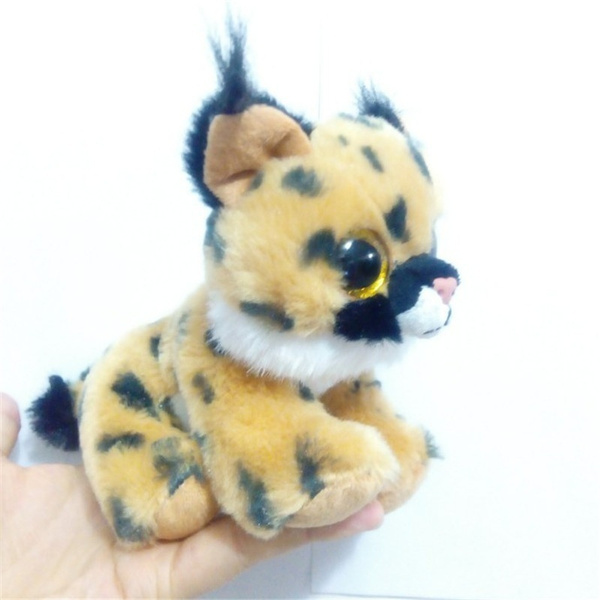 Wish 15cm Ty Beanie Boos Big Eyes Husky Dog Plush Toy Doll Stuffed