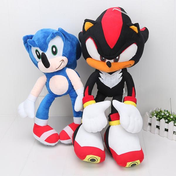 1 Piece 48 50cm Sonic The Hedgehog Shadow The Hedgehog Super Big Plush Toy Soft Stuffed Doll Wish