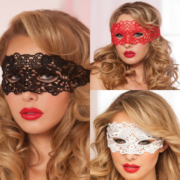 998893656cd5 1PCS Sexy Lace Venetian Mask For Masquerade Ball Halloween Cosplay ...