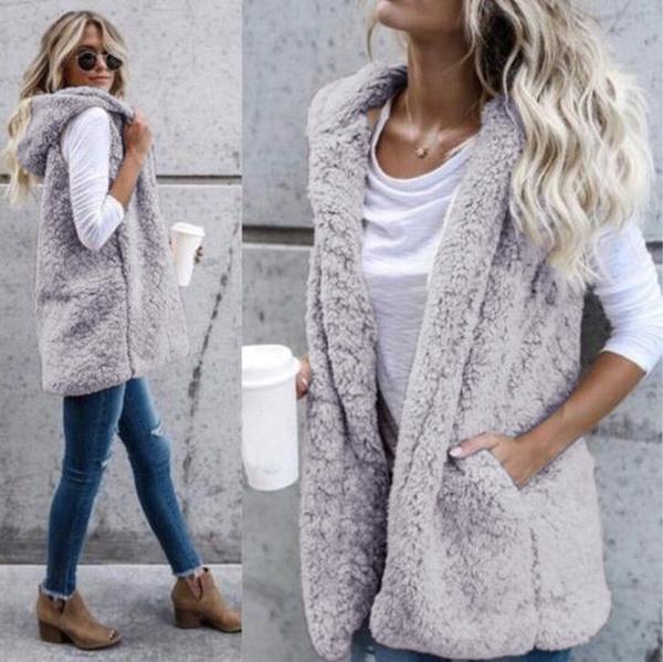 Vest, Fashion, fur, Ladies Fashion