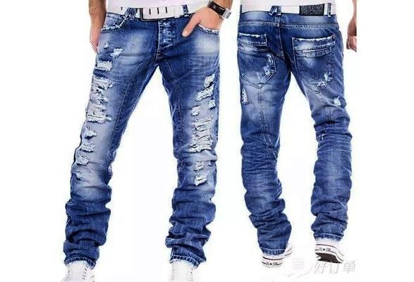 Casual Jeans homme 2017 neue Au to decide enhandel Manner Jeans gewaschen decide wei e Manner Jeans Hosen cotton