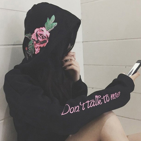 hooded, cool hoodies for women, Street dance, Sleeve